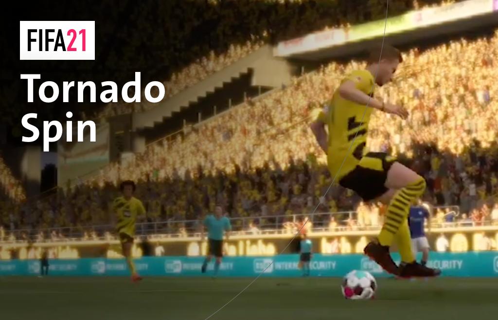 """So funktioniert der """"Tornado Spin"""" in FIFA21"""