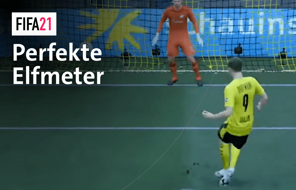 So schießt du den perfekten Elfmeter in FIFA21