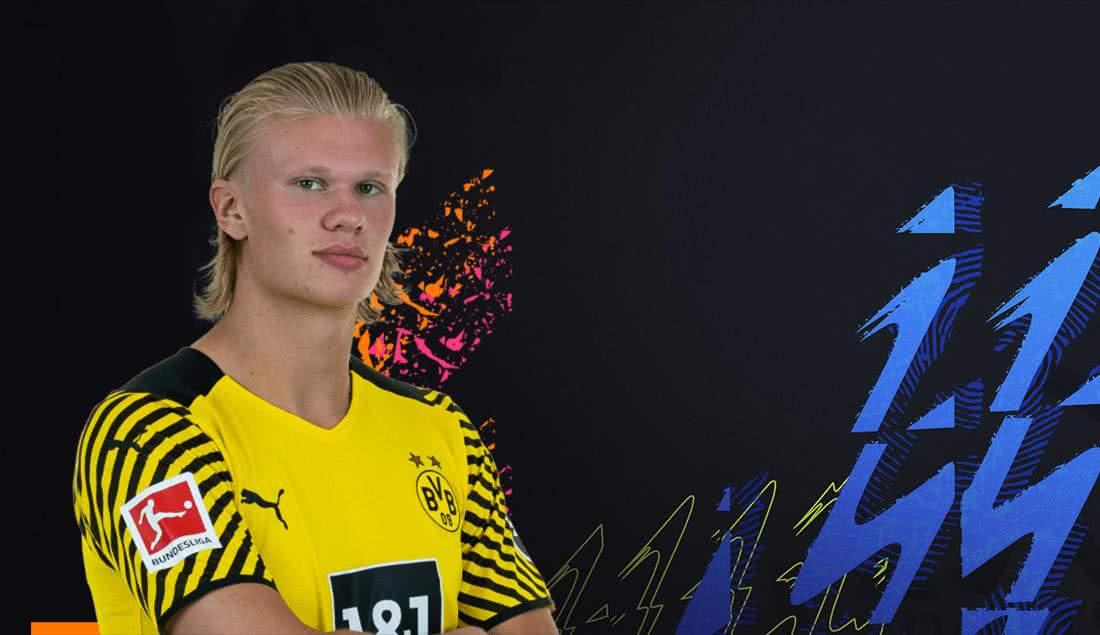 FIFA 22: Erling Haaland ist Bundesliga-POTM im August