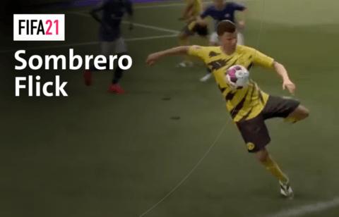 So funktioniert der Sombrero Flick in FIFA 21