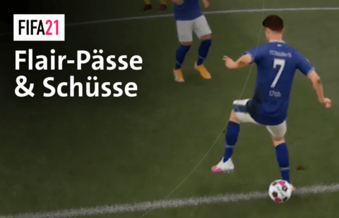 So funktionieren Flair-Pässe und Flair-Schüsse in FIFA 21